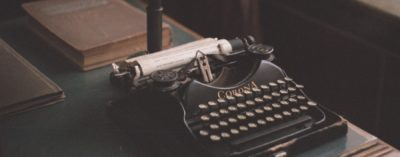 Mitchell Freitas - - Writing - Typewriter